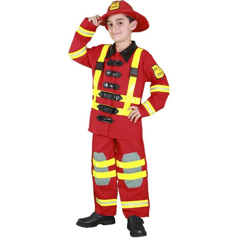 Disfraz bombero ni o env o garantizado 48h - Disfraz elfo nino ...