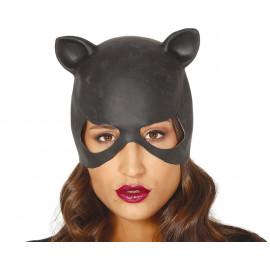 Mascara de Cat Woman de Latex