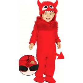 Disfraz de Demonio Monstruito para Bebe.