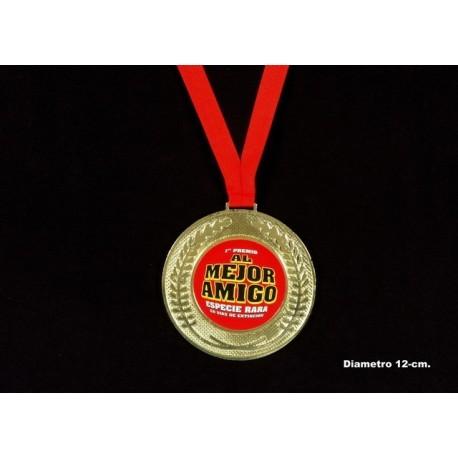 Medalla mejor amigo