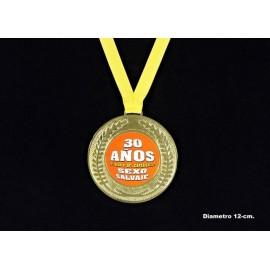 """Medalla """"30 años"""""""
