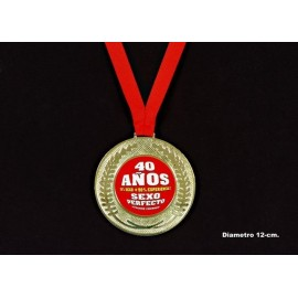 """Medalla """"40 años"""""""