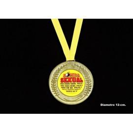 Medalla Bomba Sexual