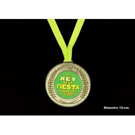 """Medalla """"El rey de la fiesta"""""""