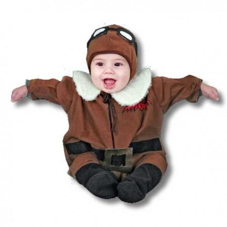 Disfraz de piloto (6-12 meses)