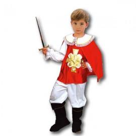Disfraz Mosquetero Rojo