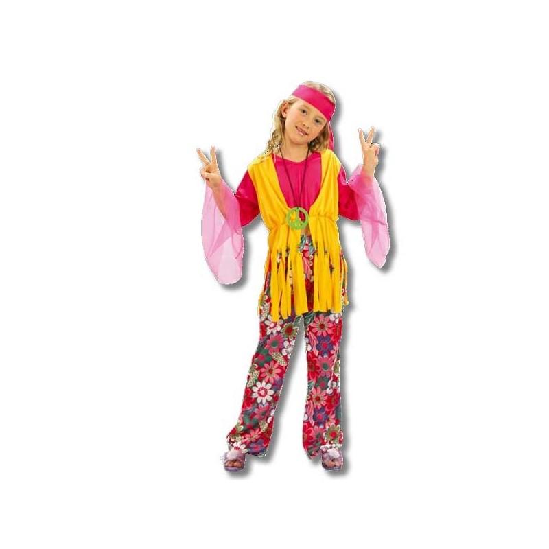 Inicio disfraz de hippie con chaleco para hombre car for Disfraz de hippie