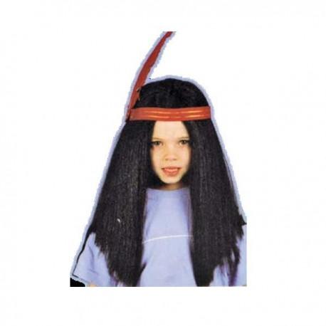 Peluca indio niño