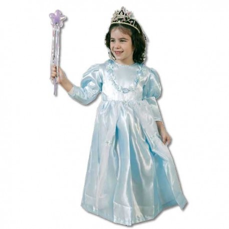 Disfraz Princesa Azul (2-4 años)