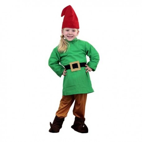 Disfraz Enanito verde (1-2 años)