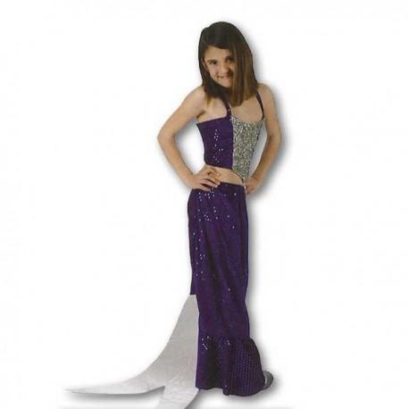 Disfraz Sirena Azul