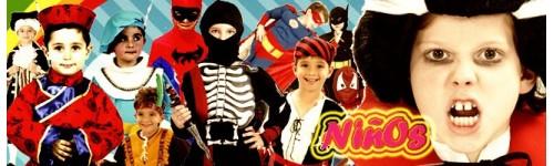 Disfraces de Carnavales para niños.