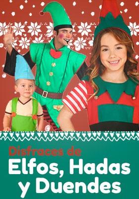 Disfraces Duendes, elfos y hadas