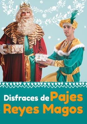 Disfraces Reyes Magos y Pajes